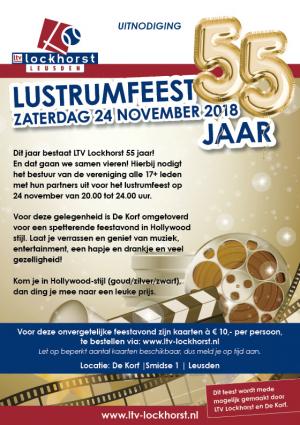 Uitnodiging Lustrum- en vrijwilligersfeest
